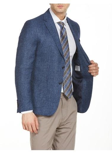 Bisse PCK20Y20121 Regular Fit 6 Drop Platinum Blazer Ceket Lacivert